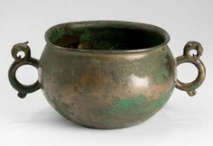 Bronze-handled jar with a finely crafted Dragon