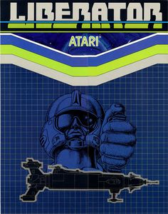 Liberator #cover #video #game #atari