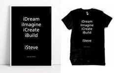 Paul Vickers : Design Thinking #steve #isteve #iimagine #idream #jobs #tribute