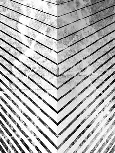 by Jonathan HaringArt Print on Society6.com #illustration #black and white #pattern #lines #angles #corners