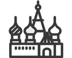 Touristic icon design #design #icons #illustrations #tourist #destinations