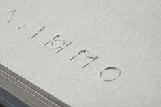 letterpress #emboss