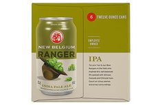 New Belgium Ranger IPA #packaging #beer