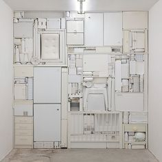 Michael Johansson #art #white #installation #objects #2001 #michael johansson