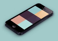 Behance :: Colory app by Emil Kozole #application #color #iphone #app #ios #colory
