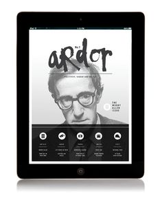 // ARTS CULTURE MAGAZINE #epublication #ipad #drawn #type #hand