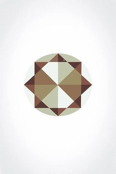my design #white #lines #edges #graphic #brown #triangle #circle