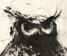 Owl by Neil Hanlon at Coroflot