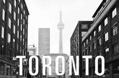 Toronto, Ontario. #canada #ontario #photography #type #toronto #typography