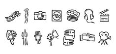 ICONS - Schwartzrock Graphic Arts #line #icons