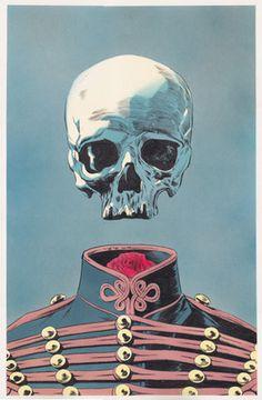 Elegant skull