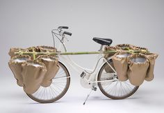 bamgoo bicycle transportation service system by sara urasini #white #bike
