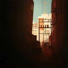 Realistic Urban Paintings by Graeme Berglun_4