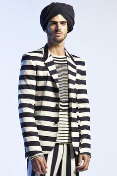 "monsieurcouture: ""Jean Paul Gaultier S/S 2013 Menswear Paris Fashion Week """