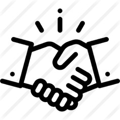 See more icon inspiration related to agreement, handshake, business, shake hands, hand shake, Cooperation, hands and gestures and gestures on Flaticon.