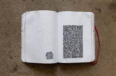 Pen & Paper: Aaron De La Cruz | Hypebeast #notebook #doodle #moleskine #sketch