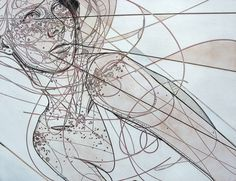 Jason Thielke - Art #woodcut #thielke #girl #jason #etching