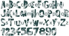 30 Cutting Edge Tattoo Fonts #fonts #tattoo
