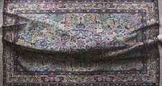 Under the Carpet: Photorealistic Oil Paintings of Rugs by Antonio Santin