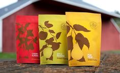 Dried Fruit Packaging by Tim O'Brien #packaging