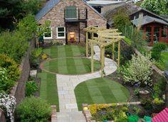 Contemporary garden design #garden design #modern garden