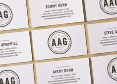 design work life » cataloging inspiration daily #seal #logo #card #business