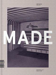 MADE #typography #mono #magazine cover