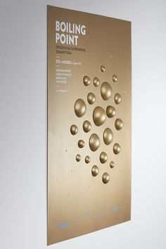 Boiling Point #craft #point #gold #poster #boiling #3d