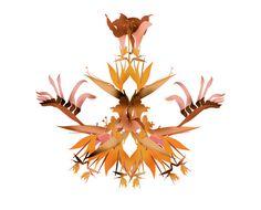 jesus as a flower : Cristian Grossi fashion illustrator and designer #kreativehouse #flower #contemporary #artwork #illustration #art #fashion #grossi #cristian