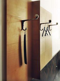 Miss Clara a new design hotel in Stockholm emmas designblogg #design #interior design #stockholm #decoration #hotel #decor #hanger #deco