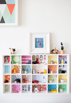 Fun DIY storage for kids vialovechicliving-co-uk #interior #room #design #decor #deco #kids #childrens #decoration