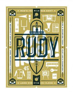 Rudy by Scott Allen Hill | Reelizer #poster