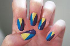 Google Image Result for http://cdn3.mixrmedia.com/wp uploads/flauntme/blog/2011/08/color block nails.jpg #polish #color #blocking #nails #nail