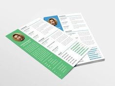 Strongman Resume - Free Resume Template for Good First Impression