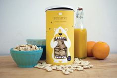 Lacy Kuhn via www.mr-cup.com #packaging #print