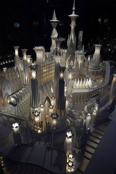 Paper Craft Castle4 #paper #castle #art #craft