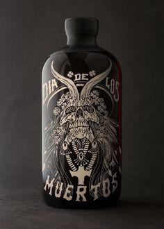 Auston Design Group | News #bottle #horchata #design #screenprint #rum #auston #package #badass