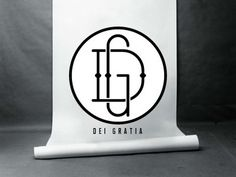 Dribbble - Dei Gratia by Joshua Fortuna #logo