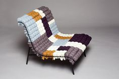 Design Milk: Modern Design Page 6 #diy #chair #textile