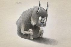 Pictoplasma   NYC 2011 #drawing #illustration #art #monster #character