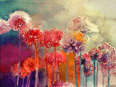 maja-10 #art #painting #water colour