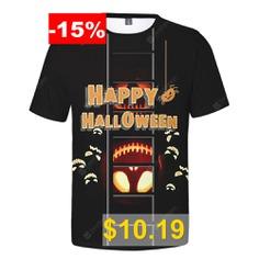 WAWNI #Fashion #Halloween #T #Shirt #Cosplay #3D #Short #Sleeve #T-shirts