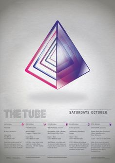 FM_TheTube.jpg (464×656) #triangle #shape #color #poster