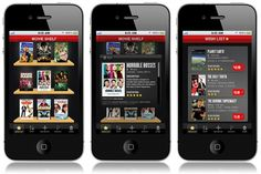 Courtney Goodhart Graphic Designer #movie #design #iphone #organizer #app #movies #shelf