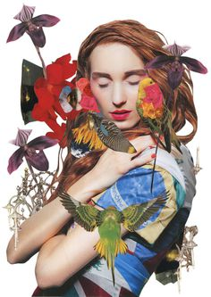 Ashkan Honarvar | PICDIT #fashion #collage #art #portrait