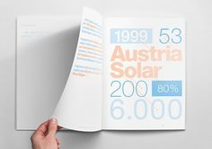 MagSpreads Editorial Design and Magazine Layout Inspiration: The Solar Annual Report #infographics #annual #report #layout #typography
