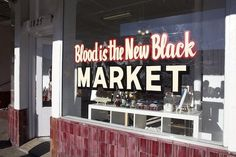 Racked LA : Los Angeles Shopping, Stores and Retail Scene : Page 7 #blood #market #black #is #the #new