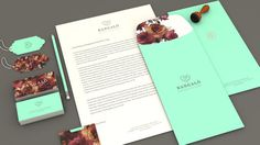 Identity by Estudio Alice by www.mr cup.com #design #stationary