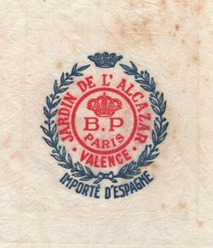 Letterology: Vintage Fruit Wrappers #seal #logo #badge #emblem
