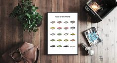OhPosters.com #interior #sweden #print #design #home #cars #scandinavian #taxi #poster #stockholm #decoration
